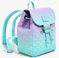 Loungefly Disney Little Mermaid Ombre Scales Mini Backpack