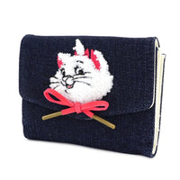 Loungefly Disney The Aristocats Marie Denim Mini Backpack and Wallet Set
