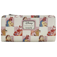 Loungefly Disney Princess Rose Checkers Wallet