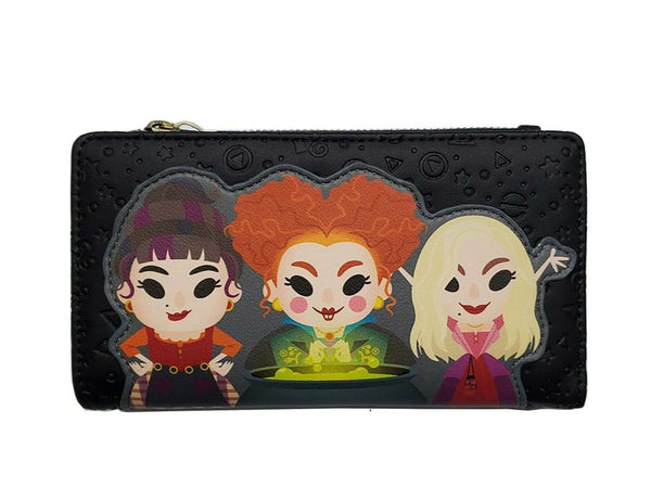 Loungefly Disney Hocus Pocus Chibi Faux Leather Wallet