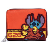 Loungefly Disney Lilo and Stitch Experiment 626 Mini Backpack and Wallet Set