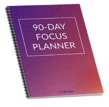 Load image into Gallery viewer, FastBraiin 90-Day Focus Planner