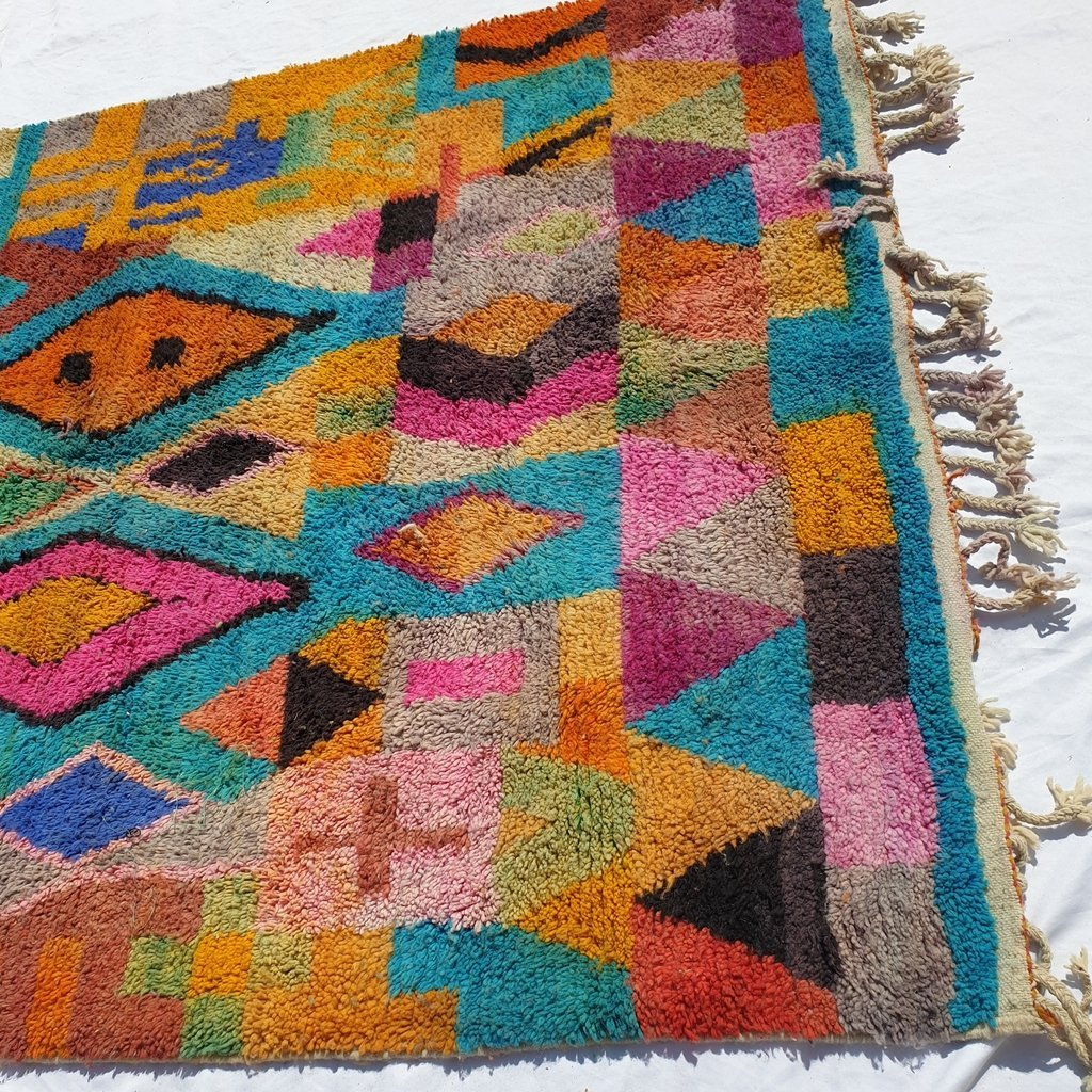 DIDI | 10x6'5 Ft | 3x2 m | Moroccan Colorful Rug | 100% wool handmade - OunizZ