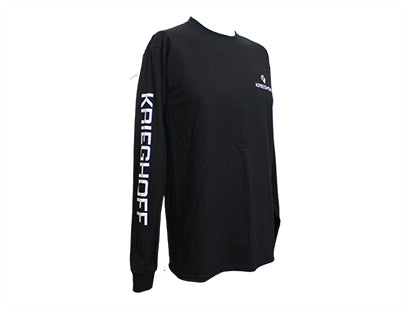 Krieghoff Long Sleeve T-Shirt Black (New Logo) - MacWet Gloves