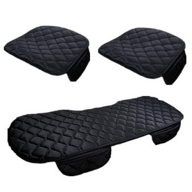 Lint Car Seat Covers Auto seat Protector Mat Car Seat Cushion Plush Velvet Car Accessories Car Back Seat Pad