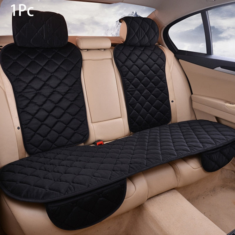 Plush Car Seat Covers Universal Winter Warm Seat Cushion Pad Mat Protector Automobiles Interior Covers Auto Accessories Styling