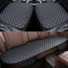 Load image into Gallery viewer, Universal Car Seat Covers Set Leather Car Seat Protector PU Car Interior Seats Cushion Mats Chair Carpet Pads Auto Accessories