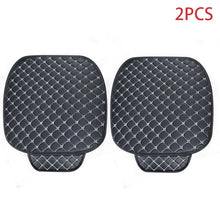 Load image into Gallery viewer, Leather Car Seat Covers Set Universal Car Seat Protector Auto Seats Cushion Mats Cover Pad Carpets Diamond Sewing Accessories