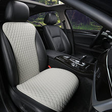 Load image into Gallery viewer, 2019 not moves single car seat cushions,universal pu leather non slide seats cover fits for most cars water proof E1 X36