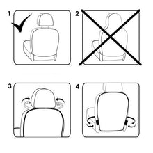 Load image into Gallery viewer, 2pcs Car Seat Back Protector Cover for Children Kids Baby Anti Mud Dirt Auto Seat Cover Cushion Kick Mat Pad Car Accessories