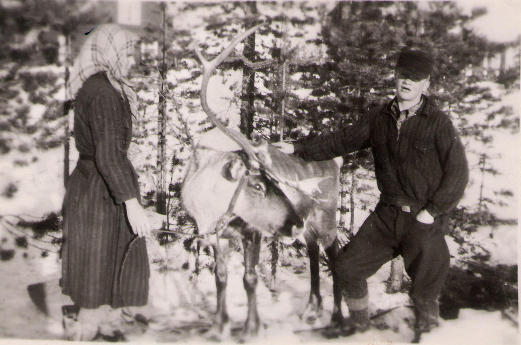 Couple with reindeer, Simply Sami Jewelry