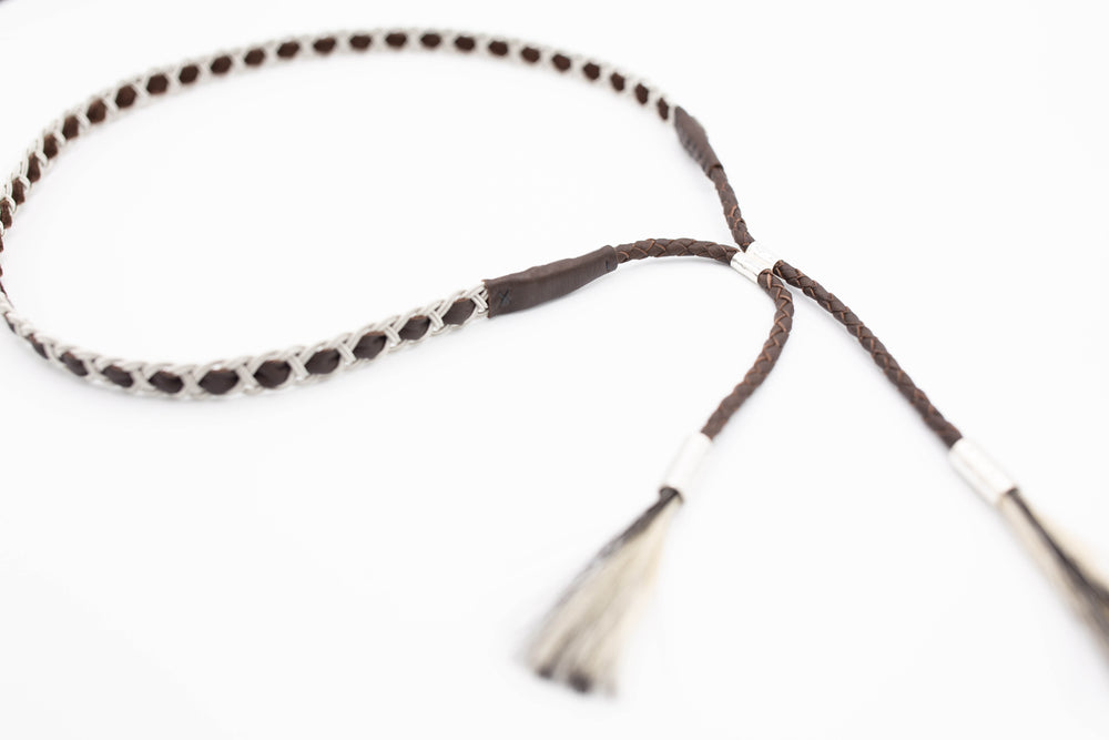 HATBAND - antique brown