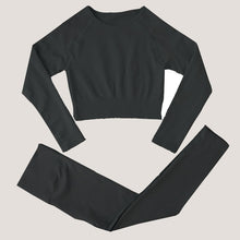 Load image into Gallery viewer, Strada™ Long Sleeve Yoga Set
