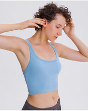 Load image into Gallery viewer, Strada™ Racerback Cropped Sports Bra