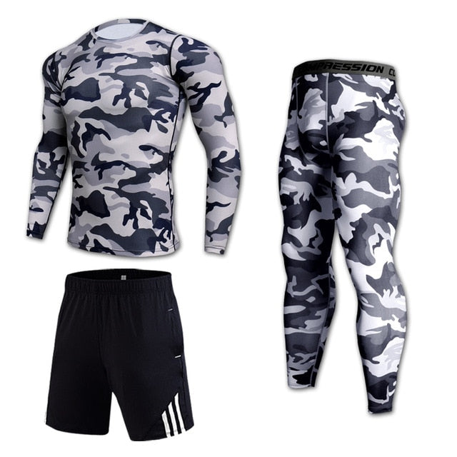 Strada™ Three Piece Camouflage set