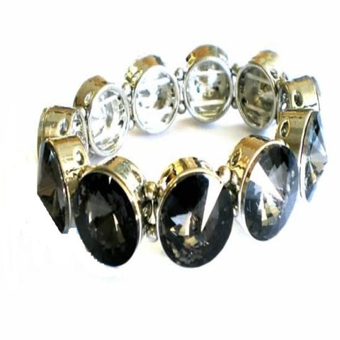Black Diamond Stretch Bracelet
