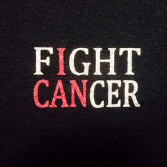 Fight Cancer Glitter Shirt