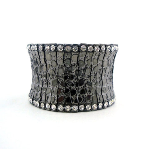 Crystal Edge Cuff