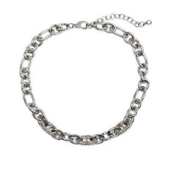 Pave Link Chain Necklace