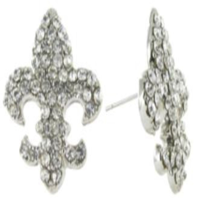 Fleur De Lis Earrings on Post