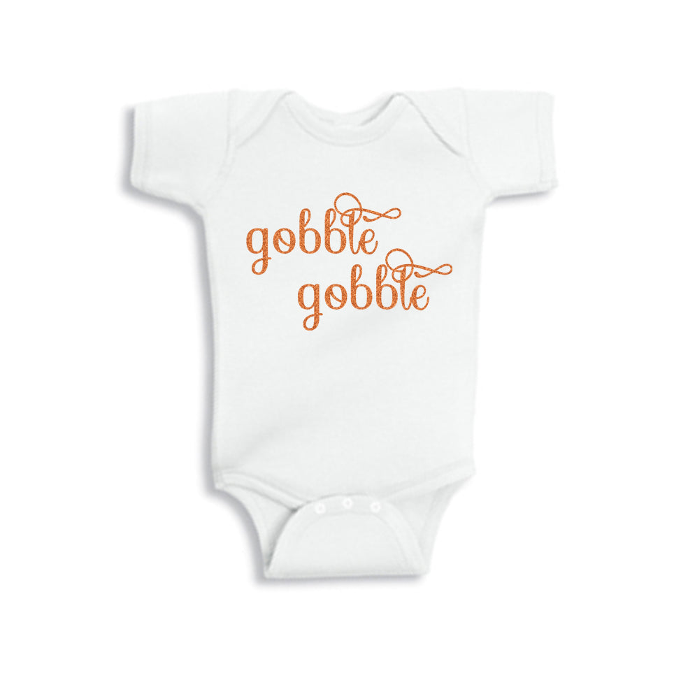 Gobble Me Up Glitter Onesie