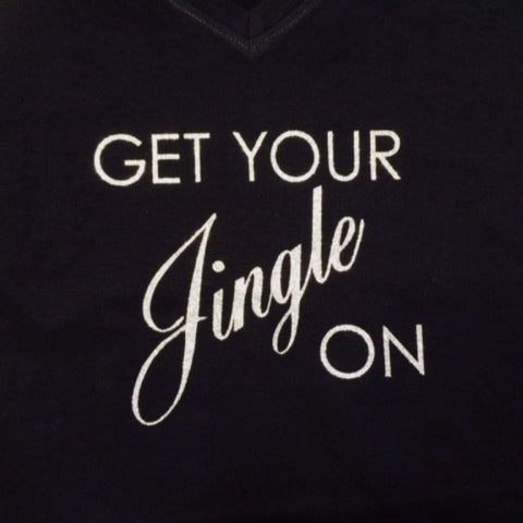 Get Your Jingle On Glitter Shirt