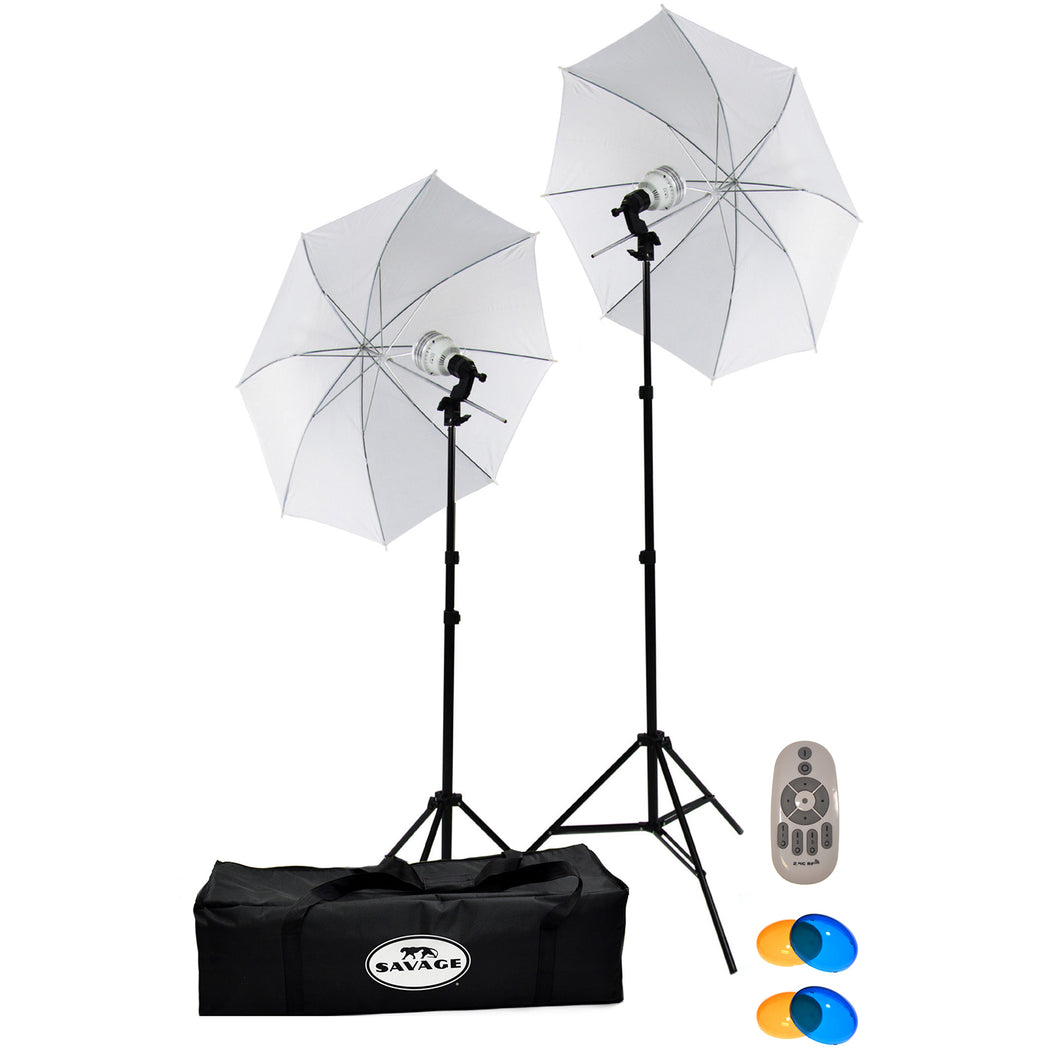Savage 500 Watt LED Studio Light Kit