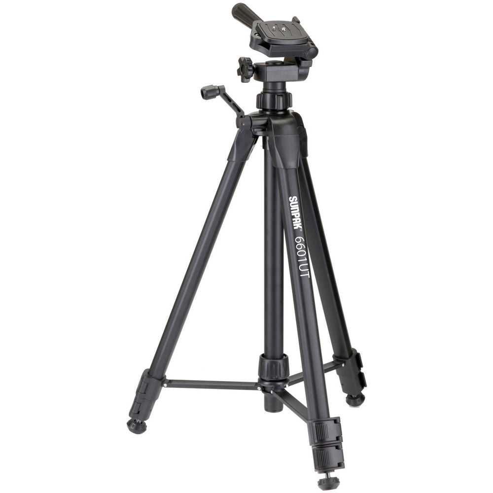 Sunpak 6601UT Tripod with 3 Way Head