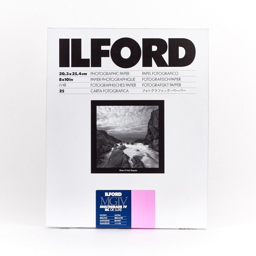 Ilford Multigrade IV RC DeLuxe Paper - Glossy - 8x10