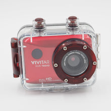Load image into Gallery viewer, Vivitar DVR 786HD Action Camera - Red - USED