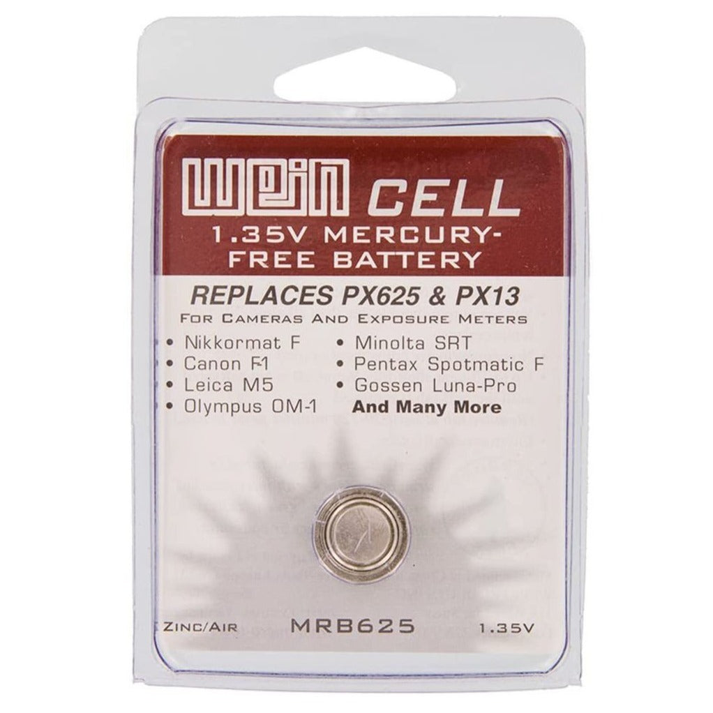Wein Cell 1.35V Mercury Free MRB625 - Replaces PX625 Battery