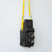 Load image into Gallery viewer, Dubblefilm Yanaka Yellow Camera Strap