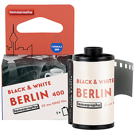 Lomography Berlin Kino 400 Black and White Negative Film - 35mm Roll Film - 36 Exposures