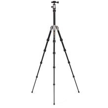 Load image into Gallery viewer, MeFoto Backpacker Aluminum Traveler Tripod - Titanium
