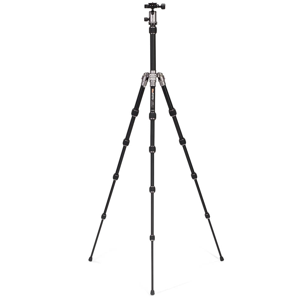 MeFoto Backpacker Aluminum Traveler Tripod - Titanium