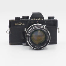 Load image into Gallery viewer, Minolta SRT 101 - Black - with 58mm f/1.4 MC Rokkor-PF Lens - USED