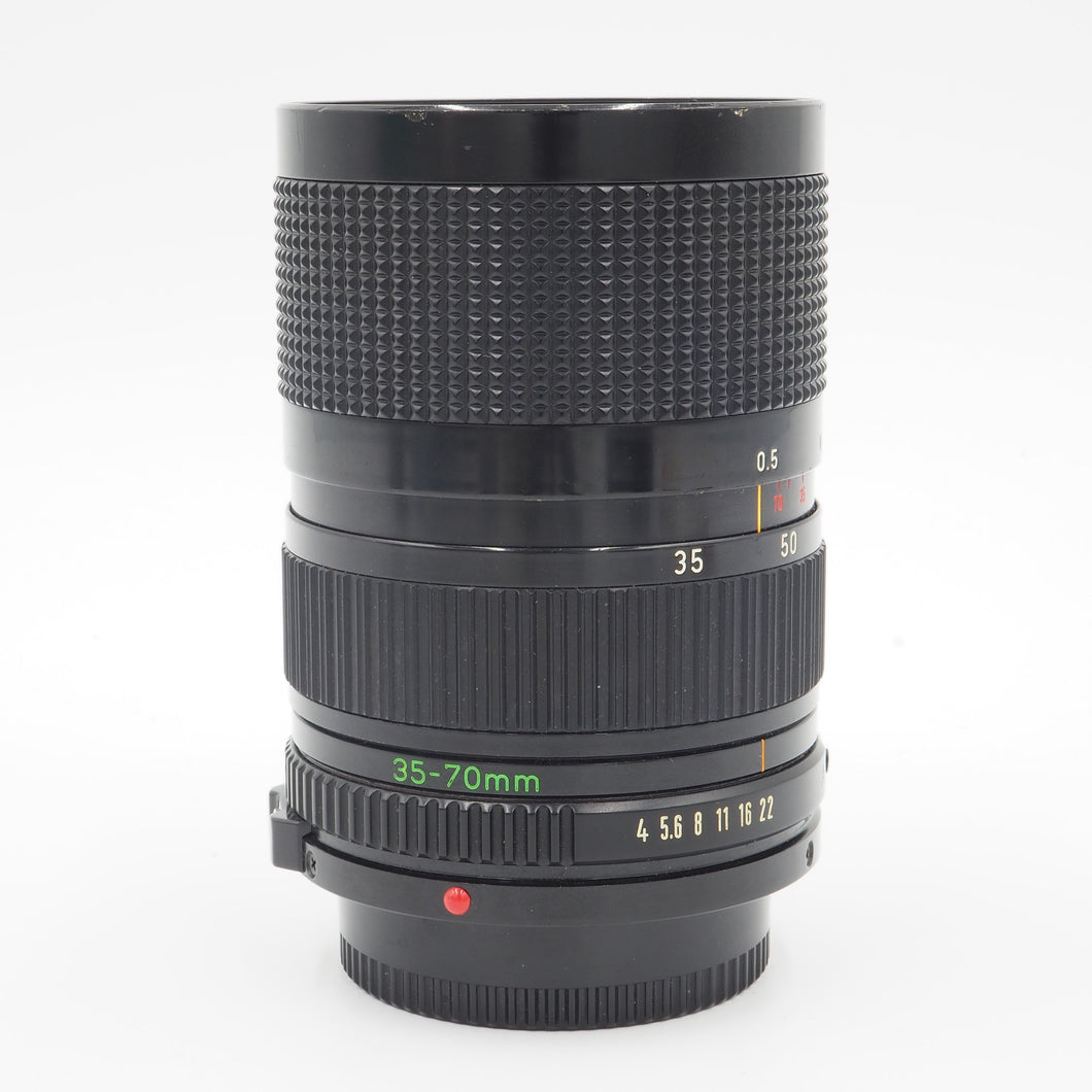 Canon 35-70mm f/4 FD Lens - USED