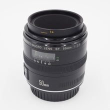 Load image into Gallery viewer, Canon 50mm f/2.5 EF Macro Lens - USED