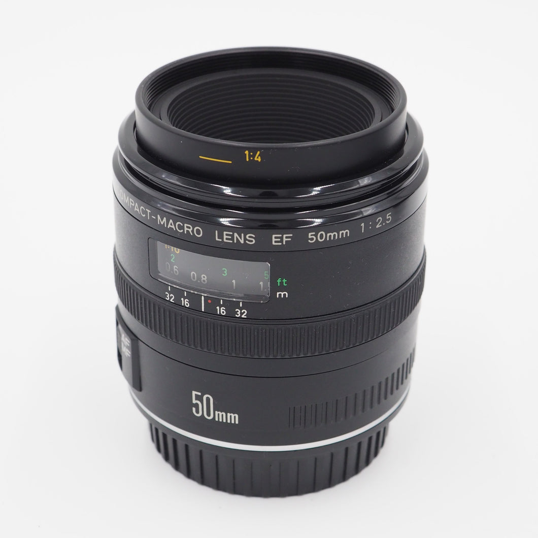 Canon 50mm f/2.5 EF Macro Lens - USED