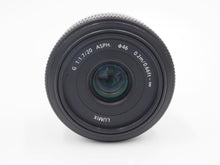 Load image into Gallery viewer, Panasonic 20mm f/1.7 Pancake Lens - Micro Four Thirds - USED