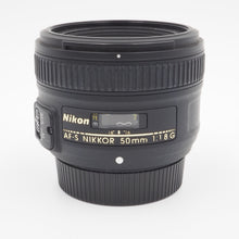 Load image into Gallery viewer, Nikon AF-S NIKKOR 50mm f/1.8G Lens - USED