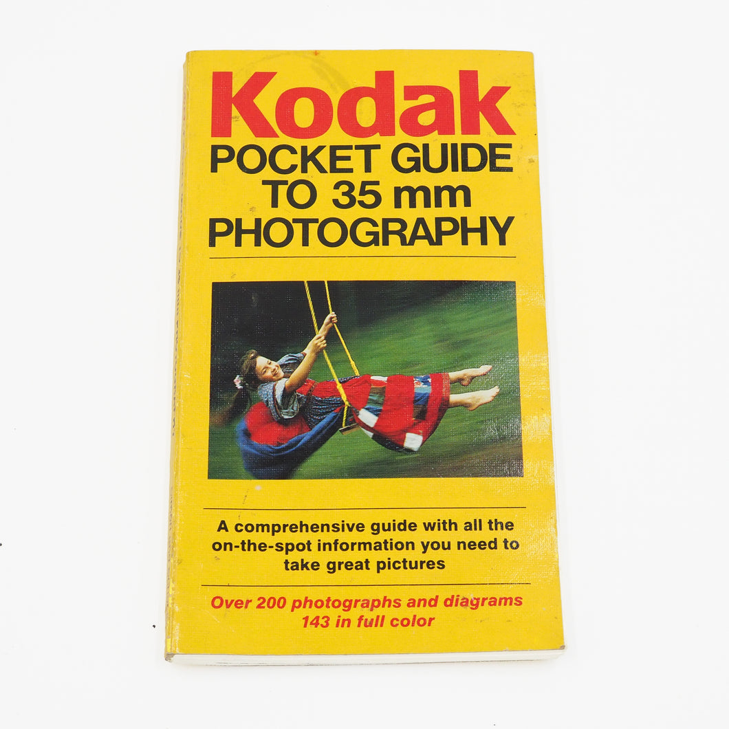 Kodak Pocket Guide to 35mm Photography - USED