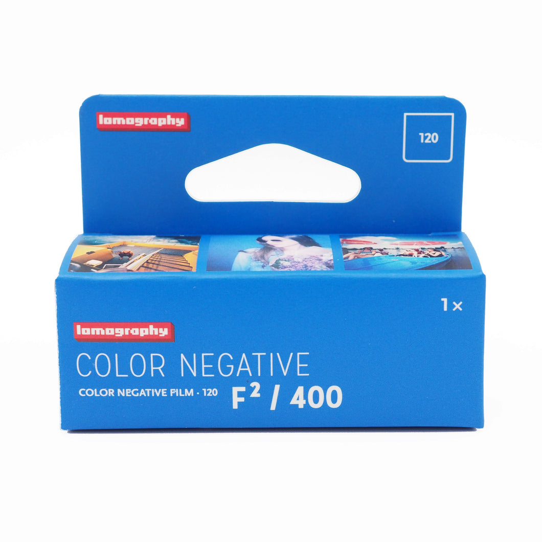 Lomography Color Negative F²/400 120 Film - Limited Quantity Available