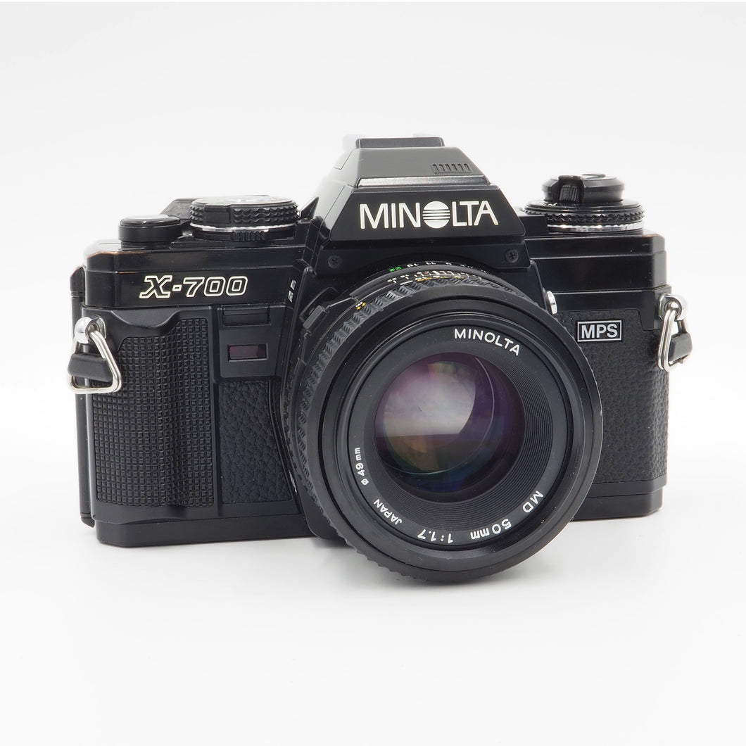 Minolta X-700 with MD 50mm f/1.7 Lens - USED