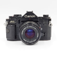 Load image into Gallery viewer, Canon A-1 with 50mm f/1.8 FD Lens - USED