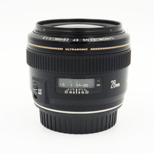 Load image into Gallery viewer, Canon 28mm f/1.8 EF USM Lens - USED