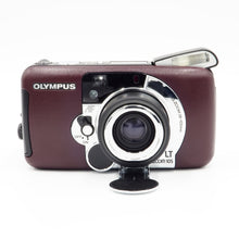 Load image into Gallery viewer, Olympus LT Zoom 105 Burgundy 35mm 38-105 All Weather Camera - USED