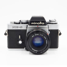 Load image into Gallery viewer, Minolta XE-5 with MD 50mm f/1.7 Lens - USED