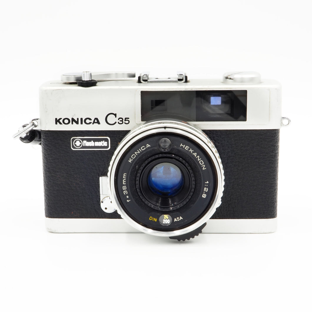 Konica C35 Rangefinder 35mm Film camera - USED
