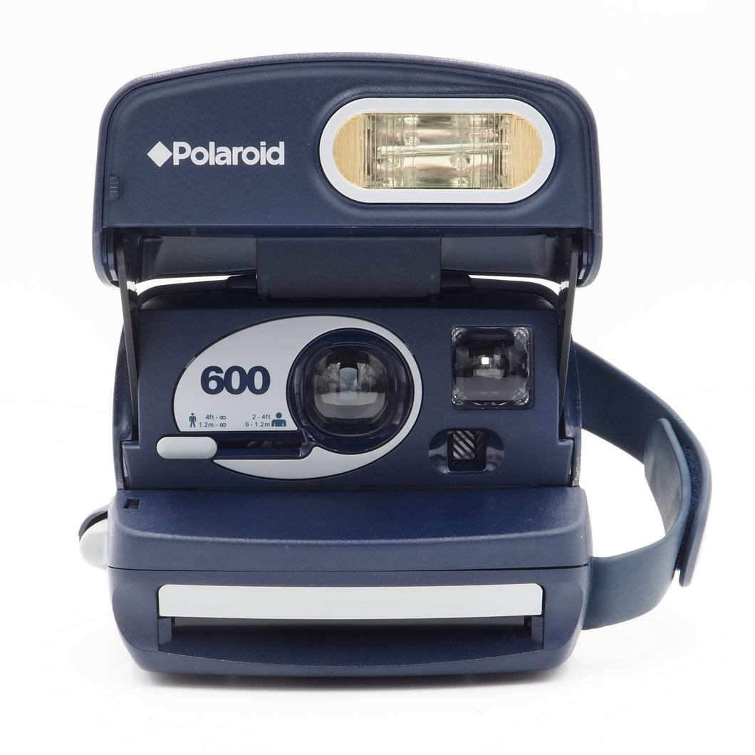 Polaroid 600 Express Blue -  Instant Camera - USED